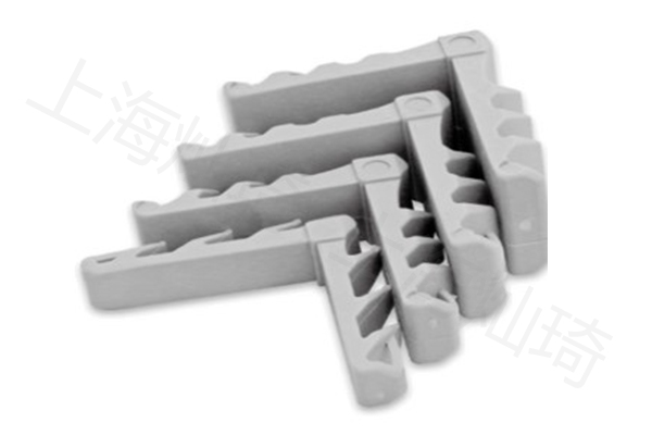 铝条塑料角插件