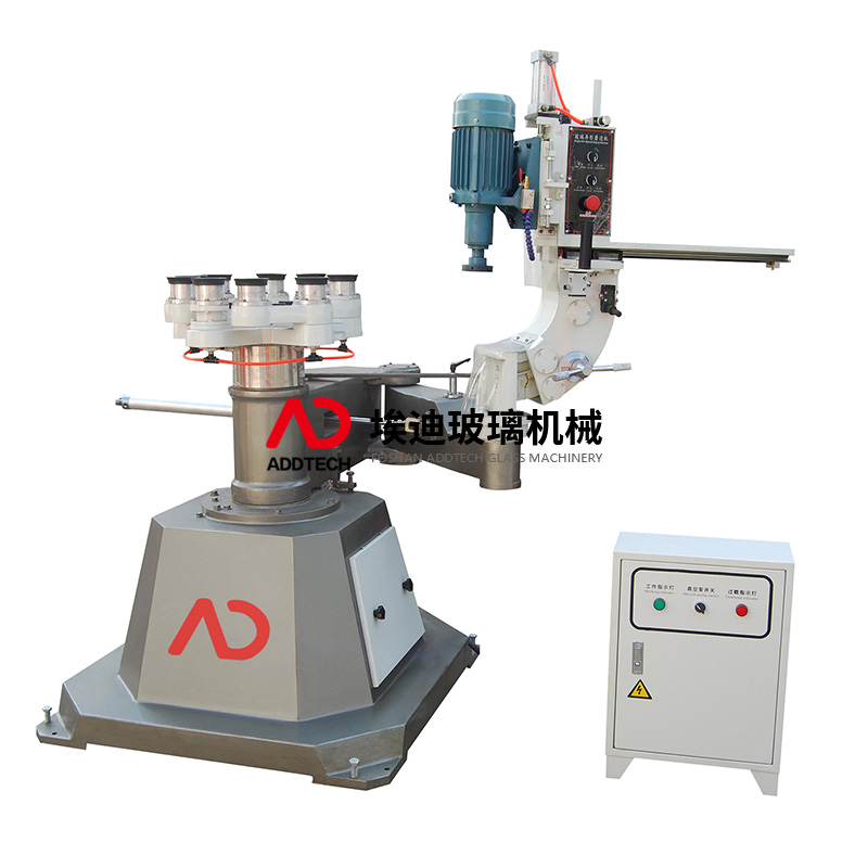 AD1321 IRREGULAR GLASS INNER AND OUTER CIRCLES GRINDING MACHINE