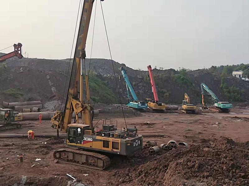 瀘州藍光長島國際社區樁基項目