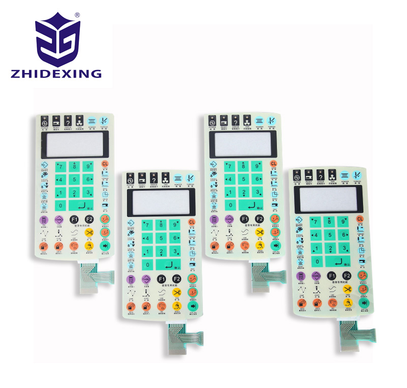 Electrical equipment membrane switch