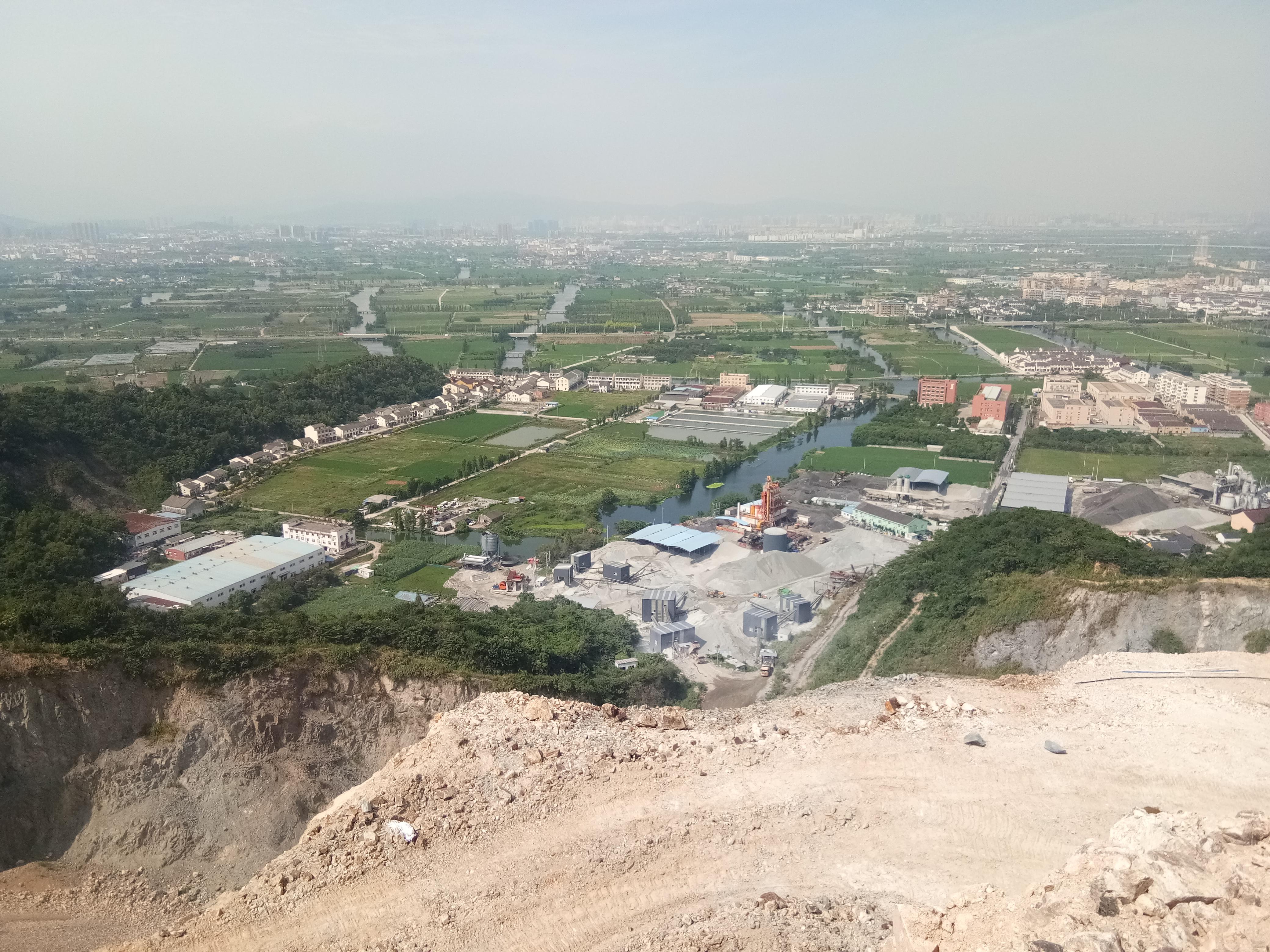 平阳县万全镇中镇村岙底山废弃矿山生态环境修复工程