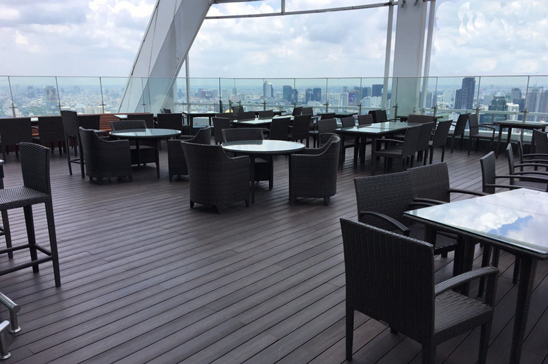 Balcony Anti-UV WPC Decking/ Flooring