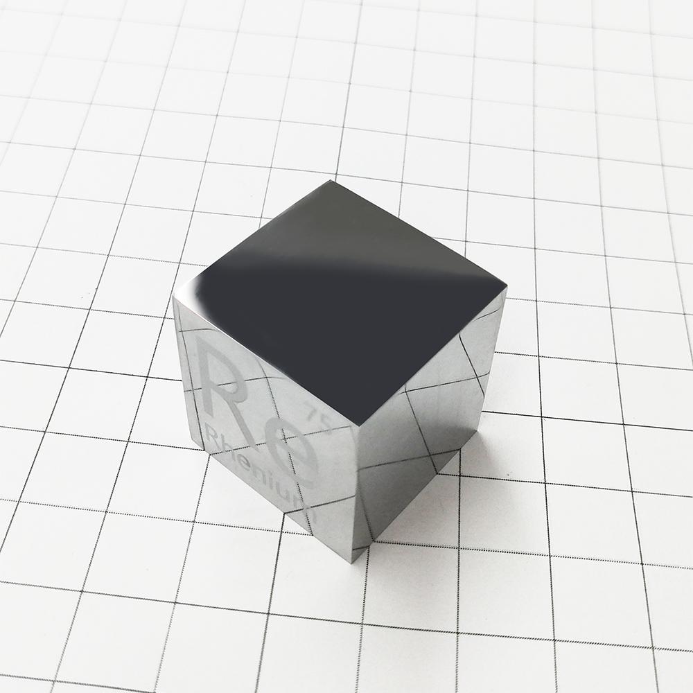 Rhenium cube