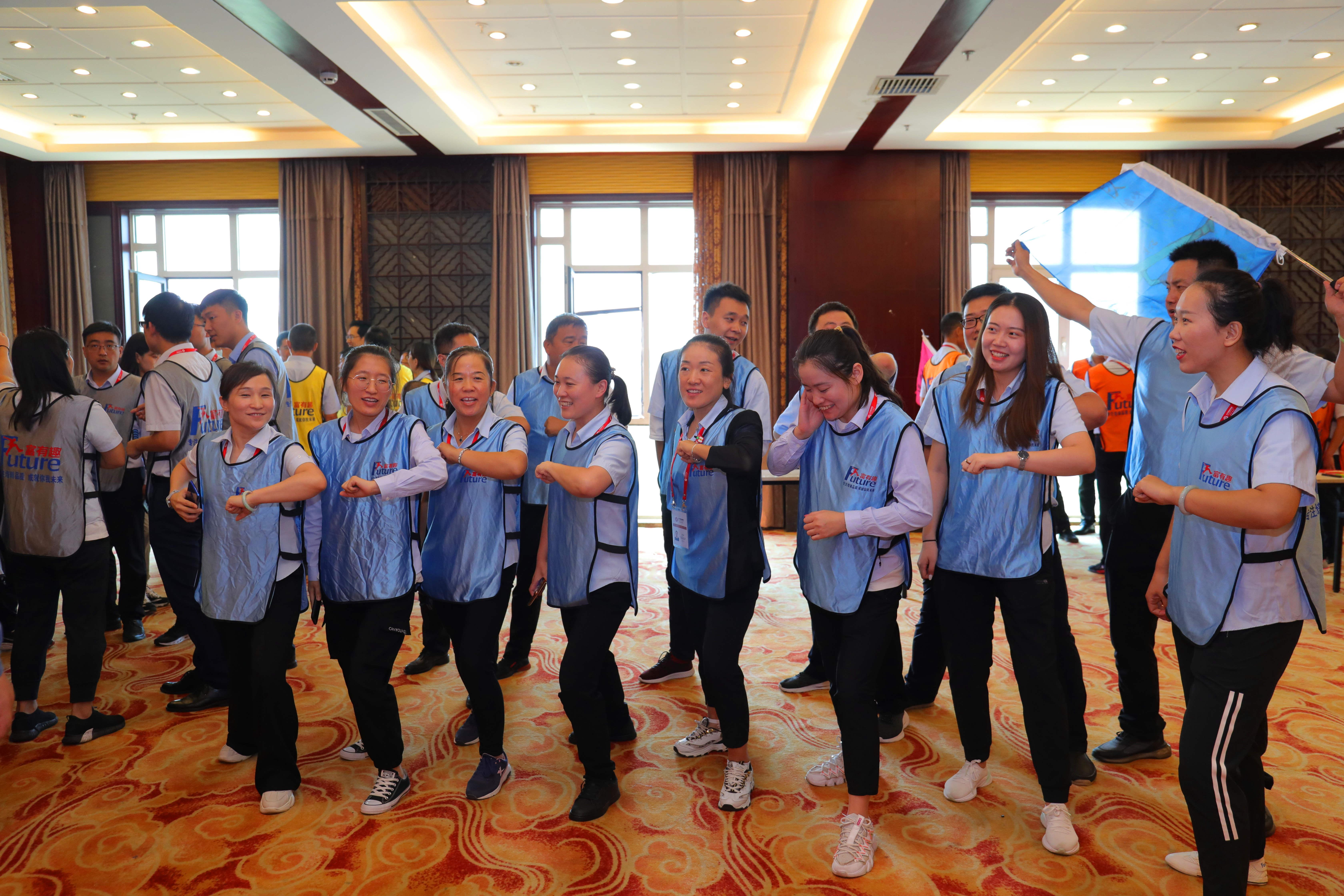 文化传承、机制创新、合作共赢、再铸辉煌--北方君威集团2020年全员拓展培训