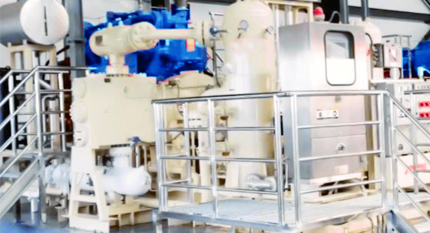 儲氣庫壓縮機組