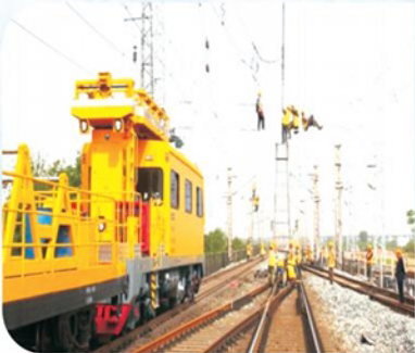 Catenary project of Liuzhou locomotive standardization yard