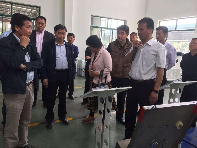 2019年5月全国政协领导来湖北永祥农机装备有限企业视察