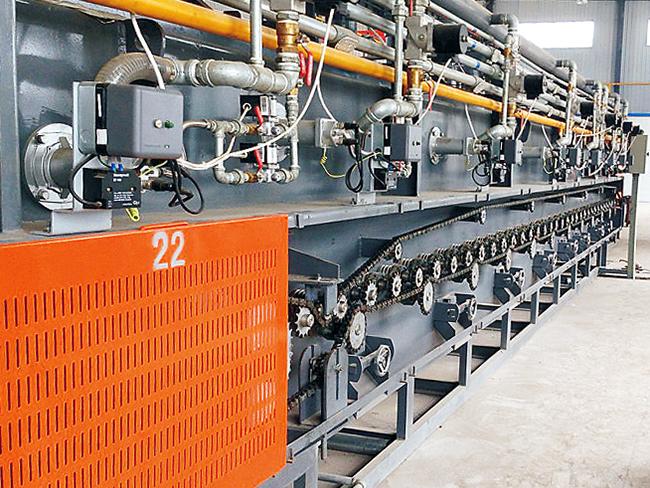 鏈板式及網帶式熱處理爐