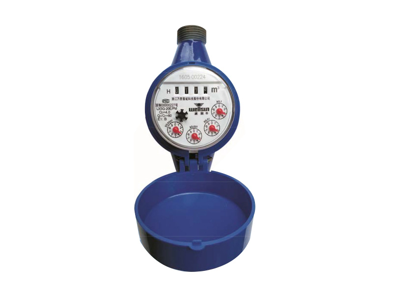 Rotor dry remote cold water meter