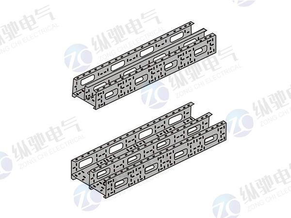 組合式電纜橋架隔板組裝示意圖