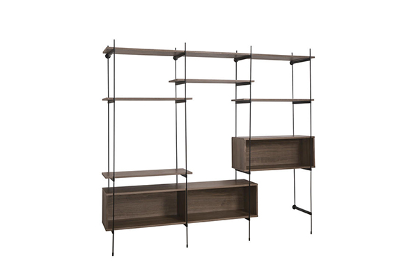 Modern Shelf Bracket Bookcases for Living Room Home Metal Storage Shelf