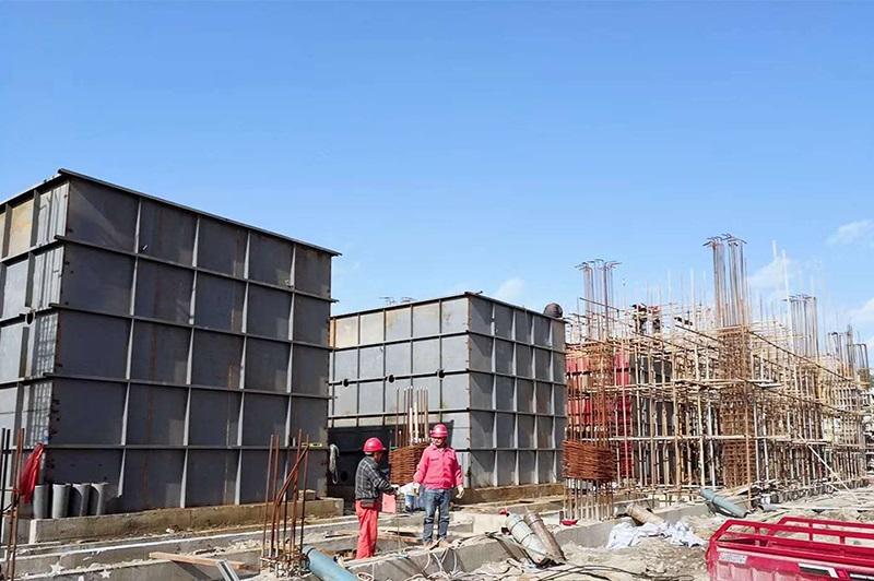 甘肃省天祝县自来水公司4套250吨每小时高浊度全自动净水器