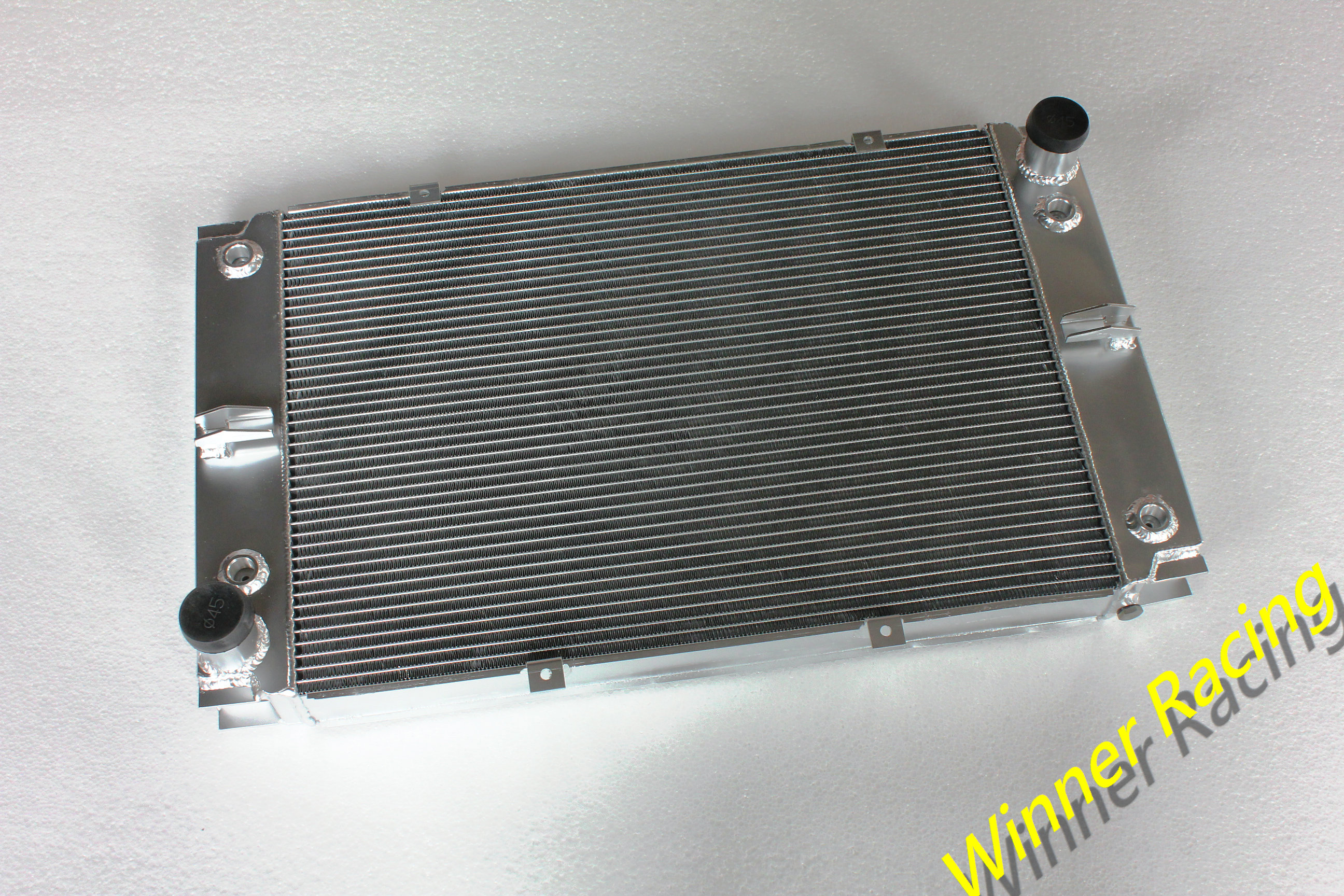 56mm Aluminum Alloy Radiator For Porsche 928 with 2 coolers on both sides