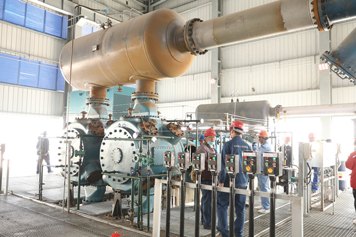 100,000 tons / young hydrocarbon recovery unit compressor completed load test