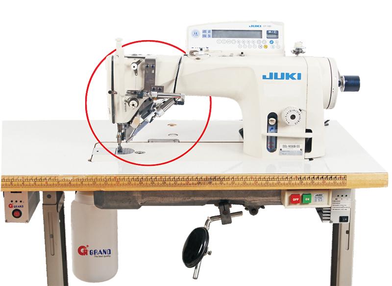 No thread lumps Equipment
