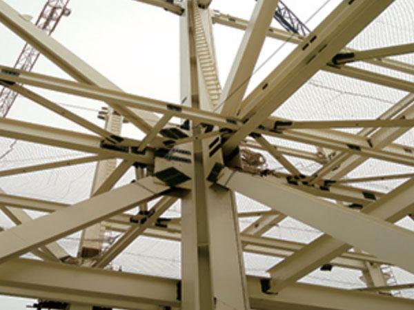 塔式爐鋼結構