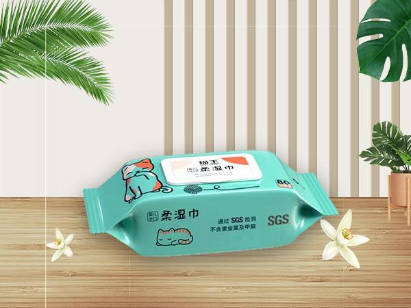 猫王婴儿手口80片柔湿巾