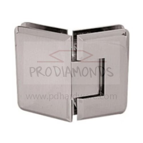 Heavy Duty Beveled Edges 135 Degree Glass to Glass Shower Door Hinge