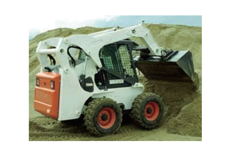 Construction machinery industry - slip loader