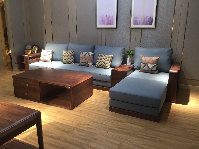 乌金木现代简约---沙发系列