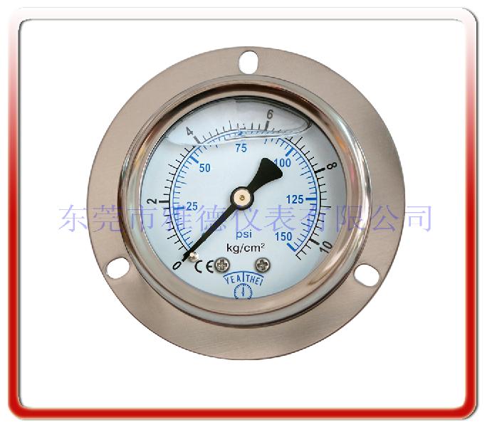 50MM軸向耐震油壓表