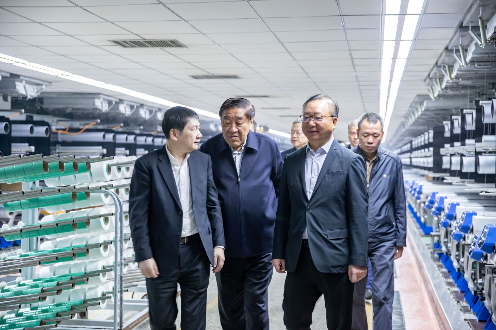 China National Textile Industry Council visited HSCC