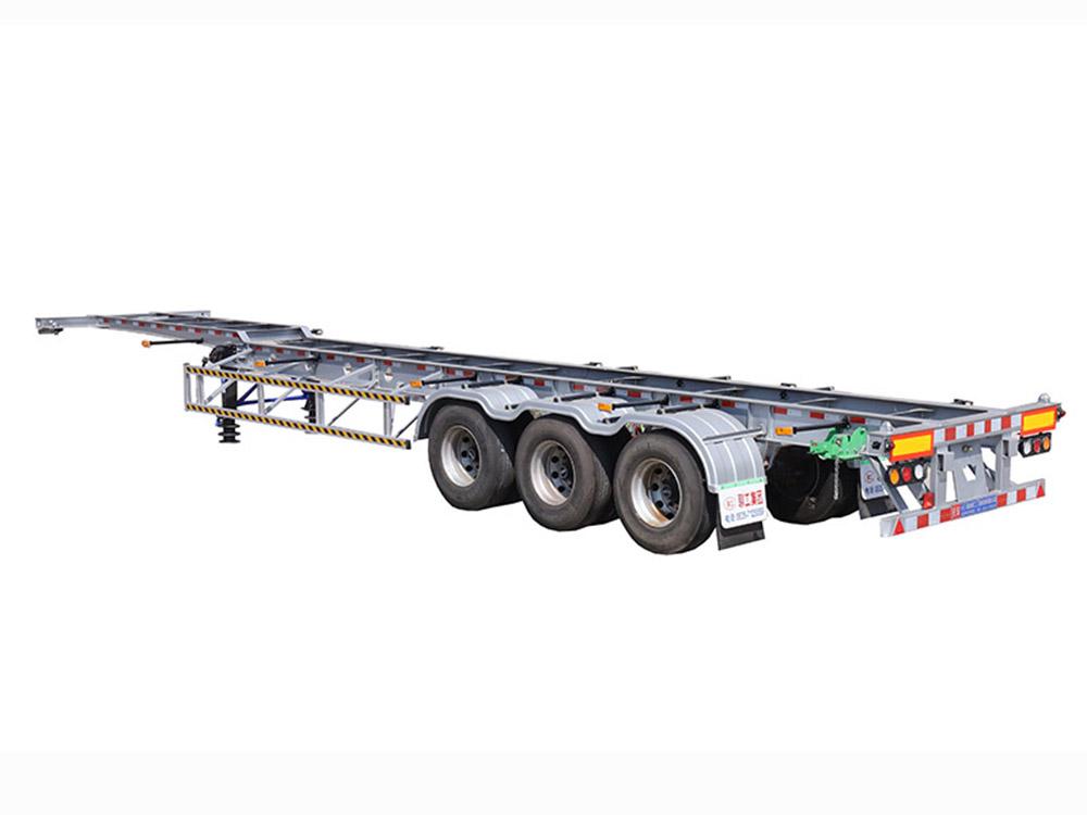 13.75米 集裝箱運輸半掛運輸車 2號