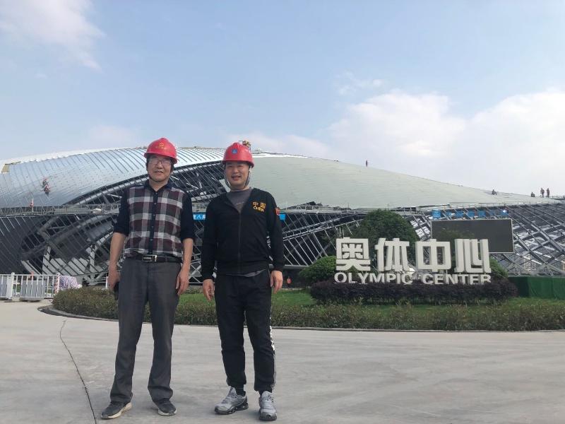 宜昌奥体中心主体育馆、游泳馆项目主体结构工程顺利通过验收