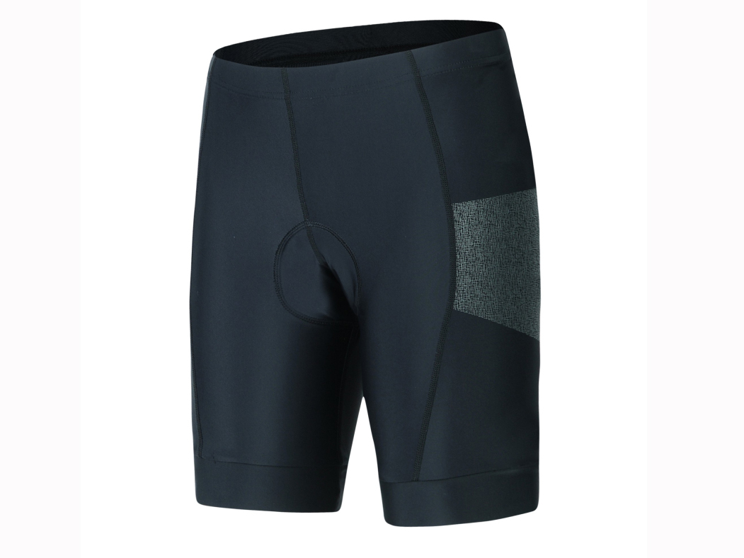 Men's knitted bicycle short with pad.