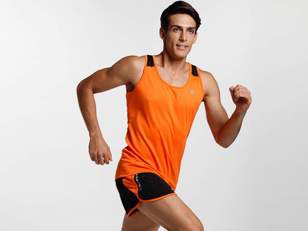Mens running Vest  and short set