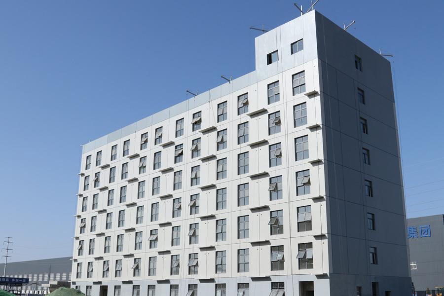 陕建(西咸新区)建筑产业基地公寓楼
