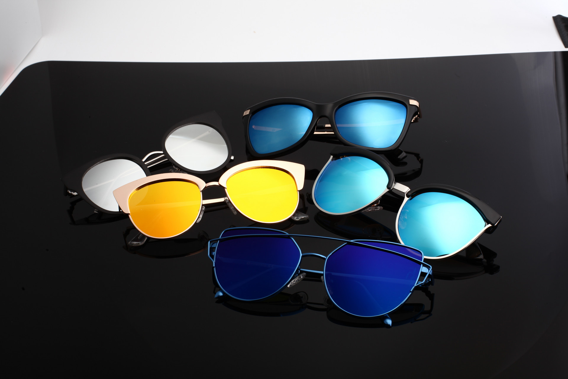 Have you chosen the right color for sunglasses?