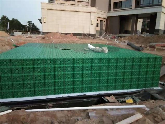 廣州_工廠雨水收集利用系統模塊水池工程項目