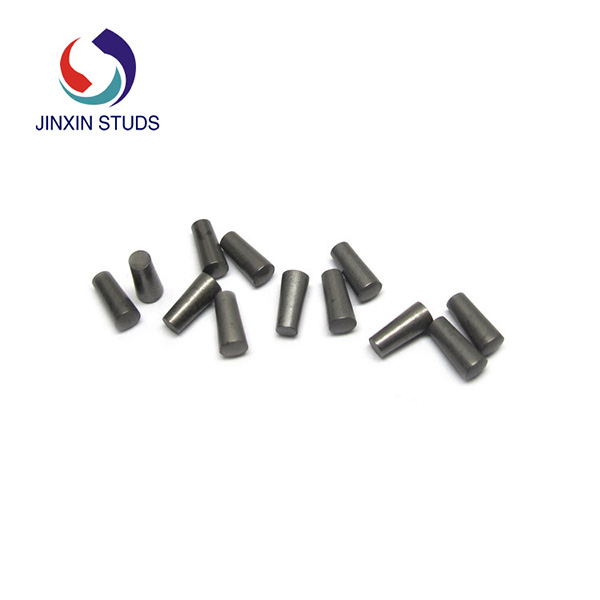 Wear resistant Cemented tungsten carbide pins for special vechicle parts
