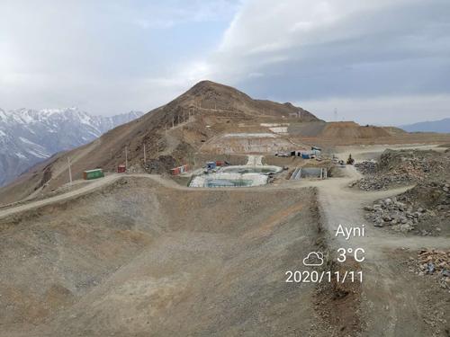 塔吉克斯坦庫河東金礦氧化礦
