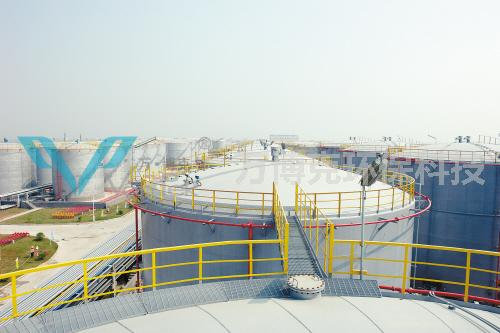 2016年4月,儲油罐機械清洗技術在油田的應用