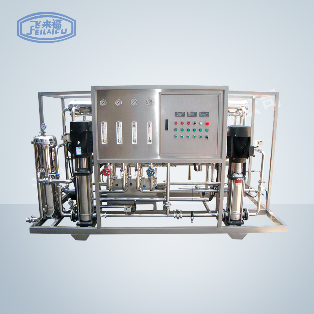 4 ton-hour two-stage reverse osmosis equipment