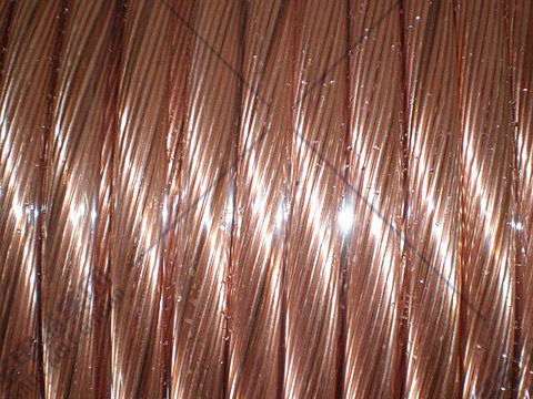 Hard copper stranded conductor