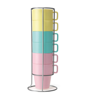 Mug with wire stand