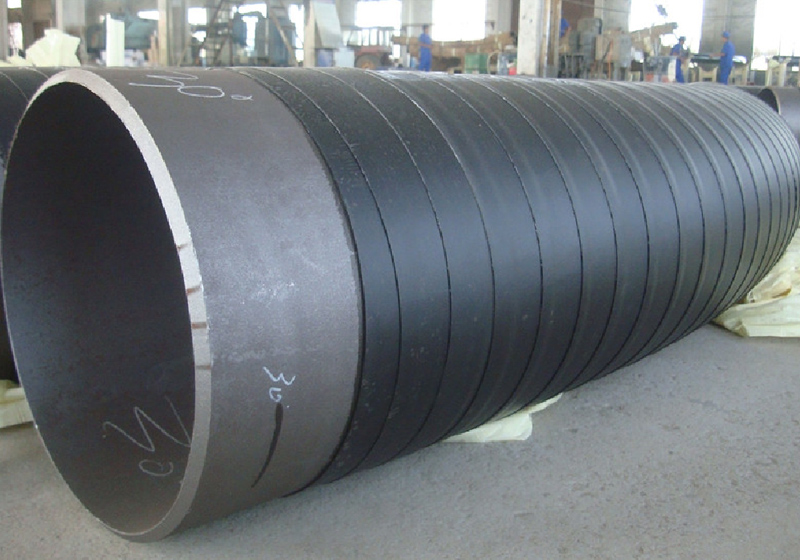 Anticorrosion of polyethylene cold-wrapped tape outside the bend