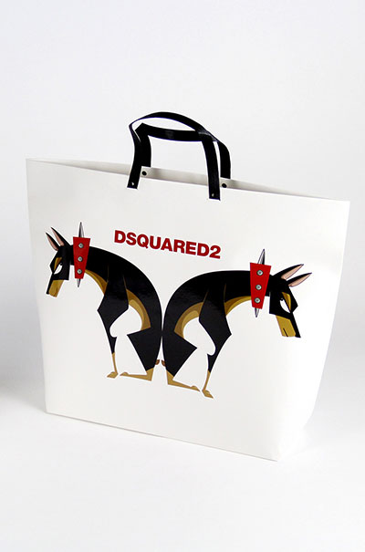 DSQUARED2 Luxury packaging box   handmade gift box  supplier