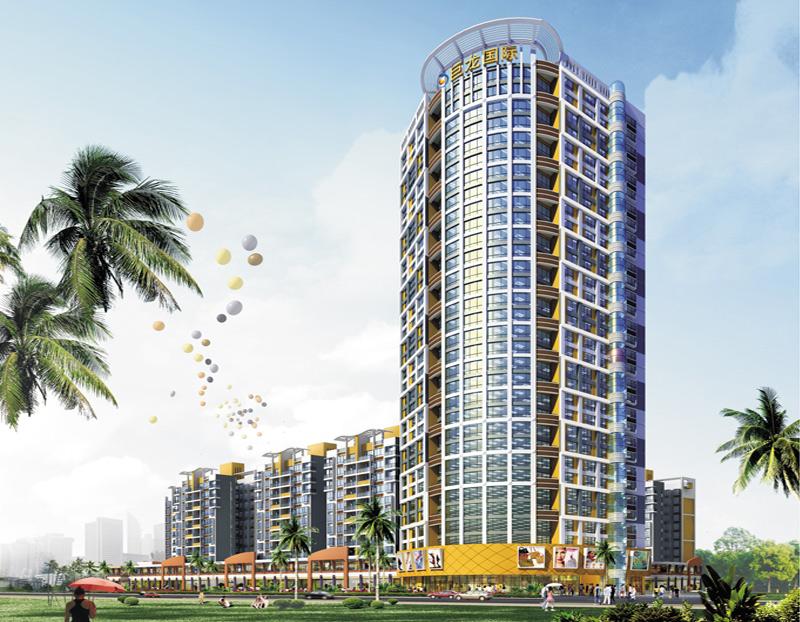 欽州港巨龍·國際花園6#樓工程被評為2011年廣西優質工程