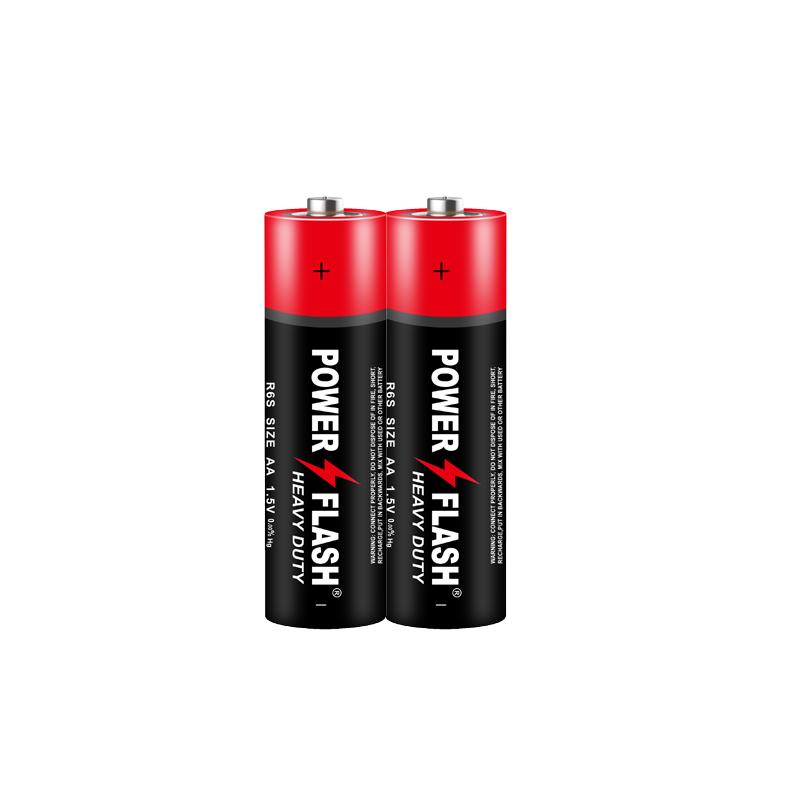 华太闪电工业配套碳性5号电池两粒装