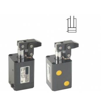 HLC 杠桿式油壓缸 MF油路板附調速/FA 法蘭型