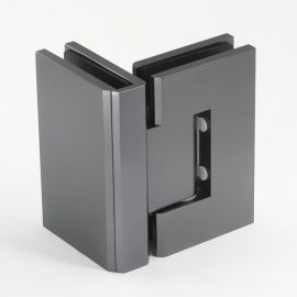 Gunmetal Frameless Shower Door Hinge