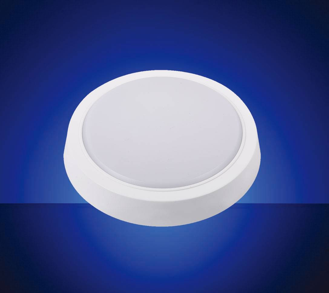 IP44 Round Type LED Ceiling Light (Ivory or Water-drop cover) with CE EMC LVD CB RoHS ISO9001 for for Kitchen and Bathroom Lighting,Flicker free Lamp Fixture