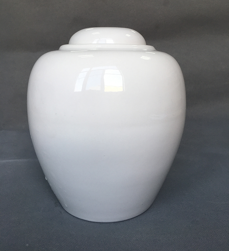 Ceramic  urns for human ashes