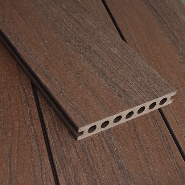 WPC Co-extrusion Decking W140*T21mm Red Wood