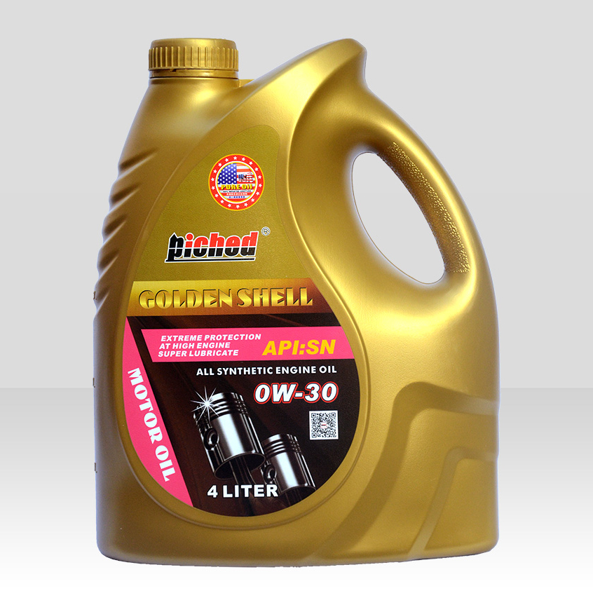 Lubricant lucringcating oil-Motor oil-金壳SN-0W-30-4L(1)