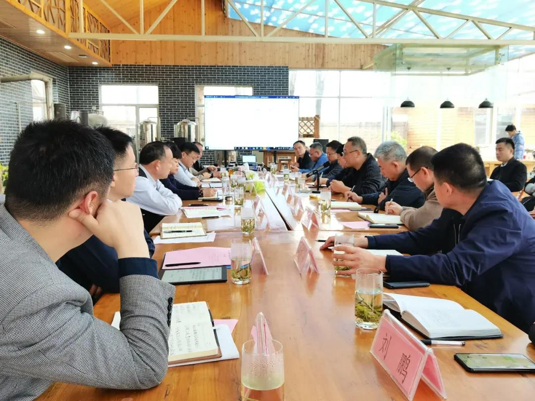 菏澤高新區了未元大健康產業園工作專班召開第二次聯席會議